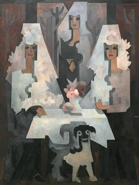 Spanish Women, 1925